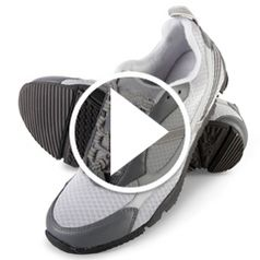 Play video for The Knee Pain Relieving Walking Shoes