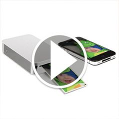 Watch The Portable Smartphone Photo Printer in action