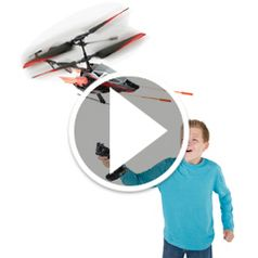 Watch The Cyclic Stick RC Helicopter in action