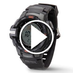 Watch  The Weather Alert Wristwatch in action
