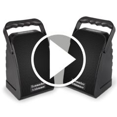 Watch The Only Rechargeable Long Range Wireless Stero Speaker in action