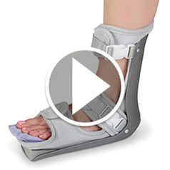Watch The Cold Therapy Plantar Fasciitis Night Splints in action