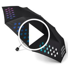 Watch	The Color Changing Umbrella in action