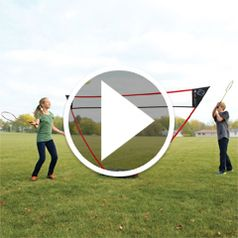Play video for The Instant Badminton Court