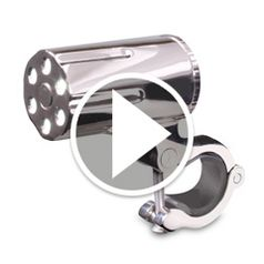 Watch The Theft Resistant Bicycle Light in action