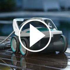 Watch The Robotic Pool Cleaner in action