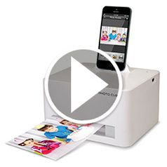 Watch The iPhone 5/6 Photo Printer in action
