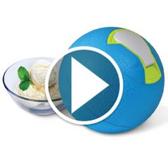 Watch The Kickball Ice Cream Maker in action