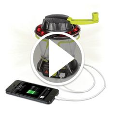 Watch The Smartphone Charging Emergency Lantern in action