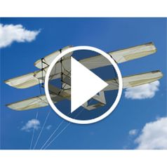 Watch The Kitty Hawk Kite in action
