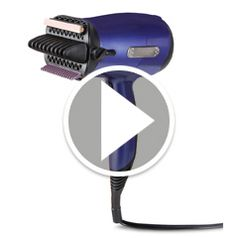 Watch The Hair Rejuvenating Blow Dryer in action