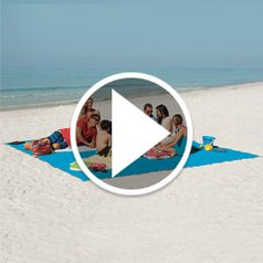 Play video for The Only 6 Person Sandless Beach Mat
