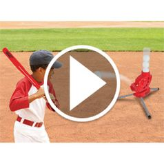 Play video for The Batter Controlled Pitching Machine