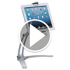 Watch The Under-Cabinet iPad Dock in action