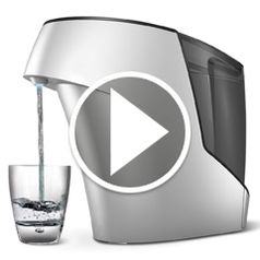 Watch The Germ Eliminating Water Purifier  in action