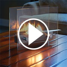 Watch The Tabletop Fireplace in action