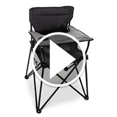 Play video for The Packable High Chair