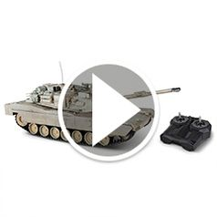 Watch The Remote Controlled Abrams Tank in action