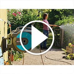 Play video for The Automatic Retracting Hose Reel