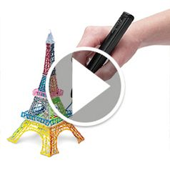 Watch The 3D Printing Pen in action