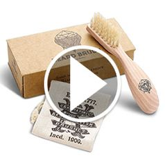 Watch The Royal Warrant Boar Bristle Beard Brush in action