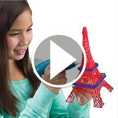 Play video for The Childs 3D Printing Pen