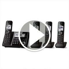 Play video for The Best Multi Handset Cordless Telephone