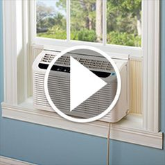 Play video for The Worlds Quietest Window Air Conditioner