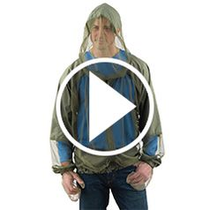 Play video for The Hooded Zip Up Mosquito Jacket