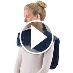 Play video for The Cordless Neck and Shoulder Heat Wrap