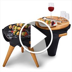 Play video for The Award Winning Transforming Chiminea Grill