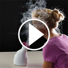 Watch The Moisture Enhancing Facial Nanosteamer in action