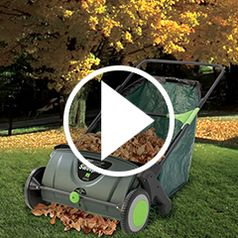 Play video for The Leaf Collecting Lawn Sweeper