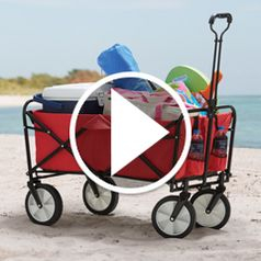 Play video for The Sandless Foldable Beach Wagon