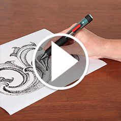 Watch The Pointillist Artists Electronic Pen in action