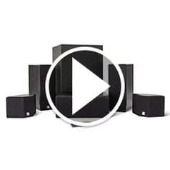 Play video for The Easy Setup Audiophines Wireless Surround Sound System
