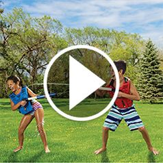 Play video for The 70Foot Range Water Tag Battle Blasters