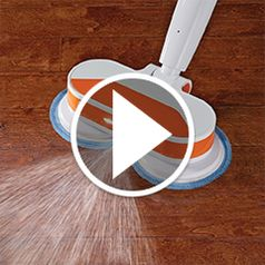 Play video for The Cordless Power Mop and Floor Polisher