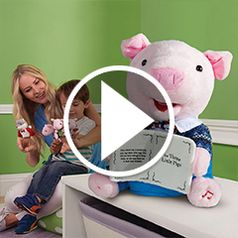 Play video for The Animated Storytelling Little Pig