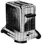 Hammacher Schlemmer 1930 Pop-Up Toaster