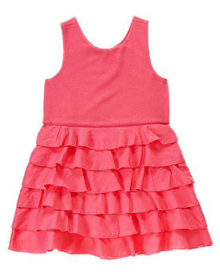 Wild Rose Tiered Dress at JanieandJack