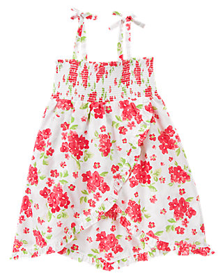 Wild Rose Floral Floral Smocked Dress at JanieandJack