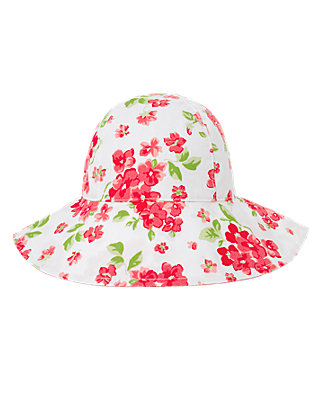 Wild Rose Floral Floral Sunhat at JanieandJack