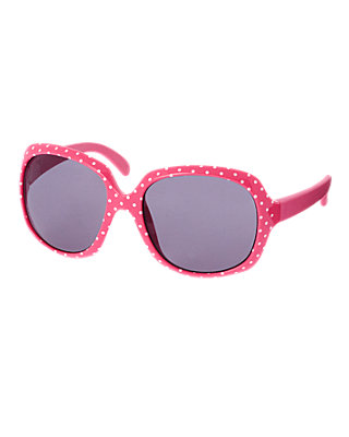 Wild Rose Dot Pindot Sunglasses at JanieandJack