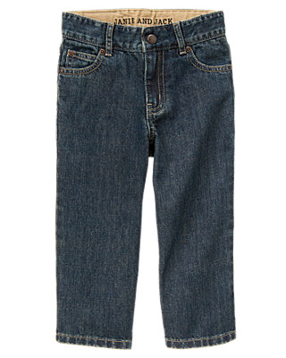 Boys Medium Wash Denim Denim Jean at JanieandJack