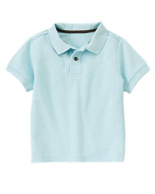 Island Blue Polo Shirt at JanieandJack