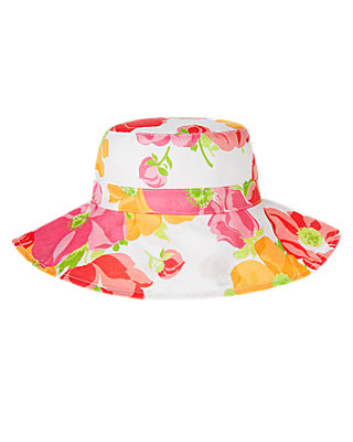 Wild Rose Bow Floral Sunhat at JanieandJack