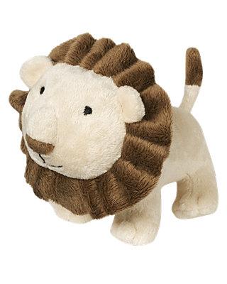 Lion Brown Lion Plush Rattle Toy at JanieandJack