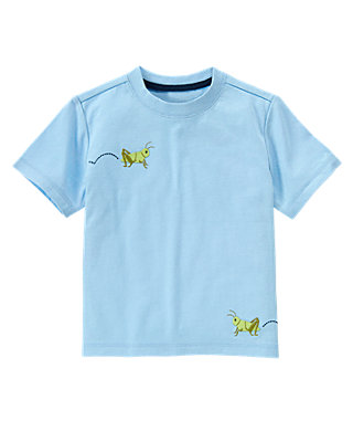 Afternoon Blue Grasshopper Tee at JanieandJack
