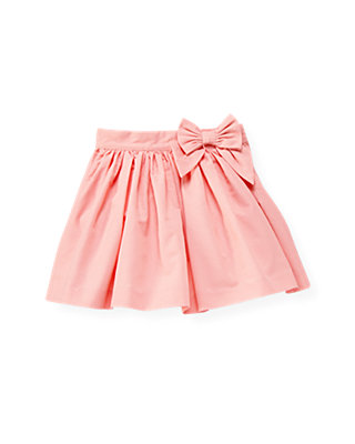 Classic Pink Bow Skirt at JanieandJack